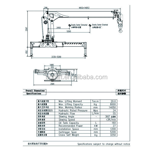 Telescopic Boom Truck Diagrams. Catalog. Auto Parts