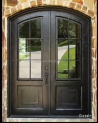 French Door Grill Designs Wrought Iron Door Glass - Buy ...