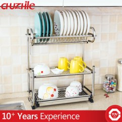 Kitchen Utensil Rack Cheap Backsplash Easy To Clean Stainless Steel Dish