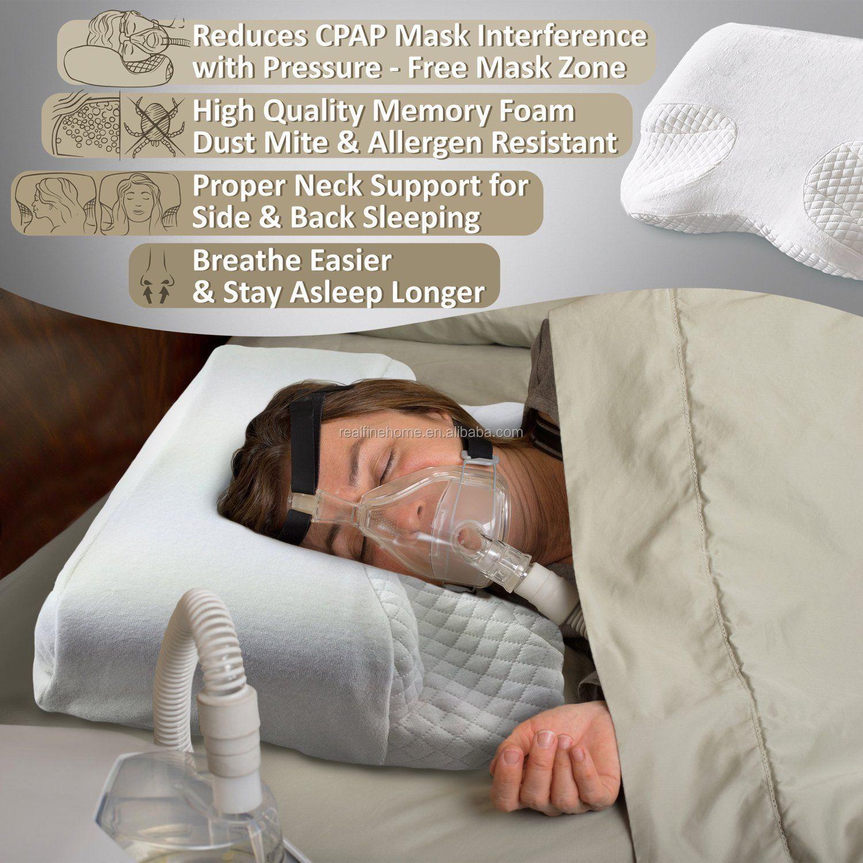 cpap memory foam counter pillow for bipap apap amp cpap mask users buy cpap memory foam counter pillow sleep cpap contour memory foam pillow sleep apnea for cpap pillow product on alibaba com