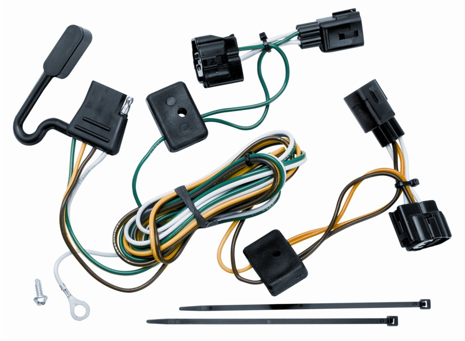 hight resolution of get quotations vehicle to trailer wiring harness connector 98 06 jeep wrangler unlimited tj