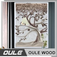 Wood Wall Mural For Living Room Furniture / 3d Wallpaper ...