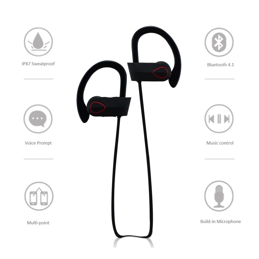 Ru9 Newest Ipx7 In-ear Waterproof In Ear Bluetooth