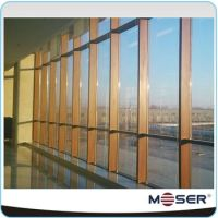 Customized Aluminium Outside Wood Inside Composite Glass
