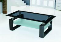 Ruang tamu yang modern kaca meja tengah atas desain-Meja ...