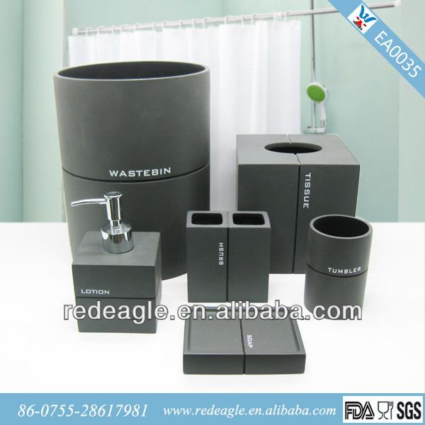Ea035 Bathroom Accessories Dubai Polyresin Toilet With
