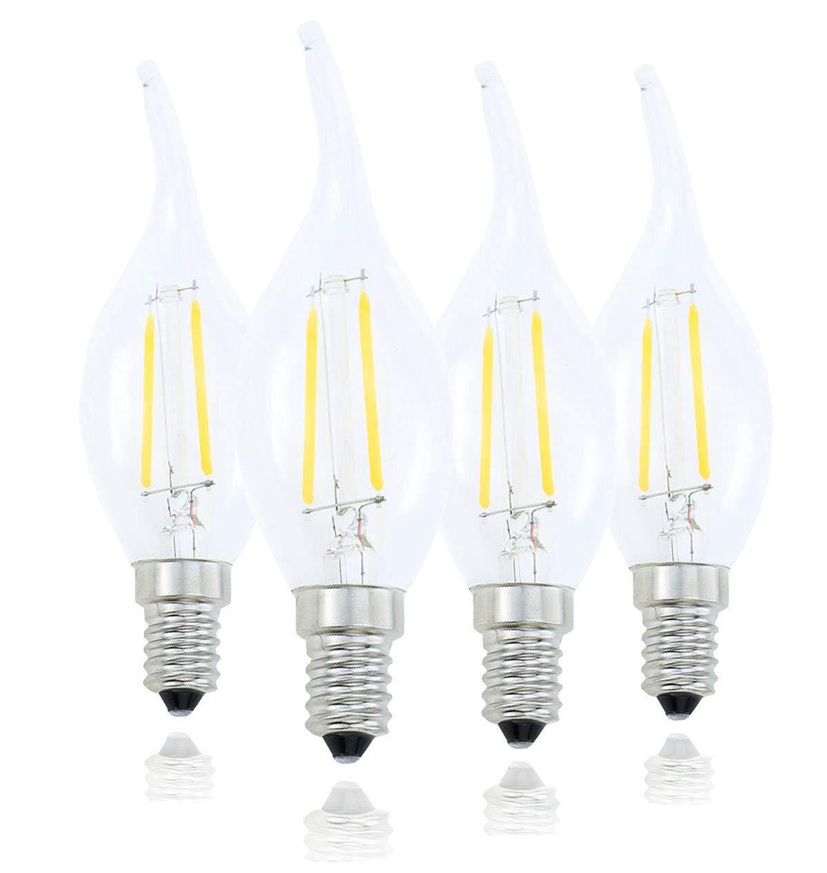 Buy Pack 2 E14 Led Light Bulb 12v 24v Ac Dc 3 5w 380 Lumen
