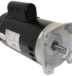 get quotations a o smith b2840 2 5hp 230v pool pump motor 56y frame square flange [ 1500 x 1358 Pixel ]