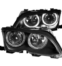 get quotations front headlight bmw 325i bmw 325xi bmw 330i bmw 330xi 3 series e46 [ 1500 x 1500 Pixel ]