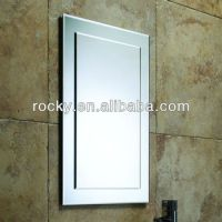 Bathroom Frameless Bevelling Rectangular Mirror Iso9001 ...