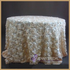 Cream Chair Covers For Weddings Revolving Bangalore Tc031h Fancy Rosette Satin Wedding Decoration And Table Buy
