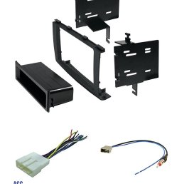 get quotations asc audio car stereo radio install dash kit wire harness and antenna adapter to [ 1139 x 1500 Pixel ]