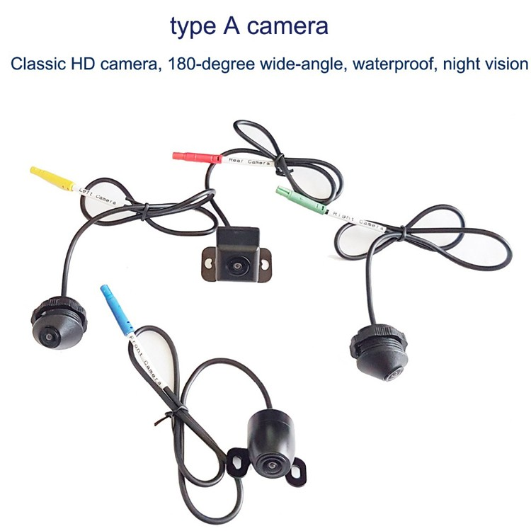 3d Full Hd 1080p 360 Camera Surround View System Fhd 1080p