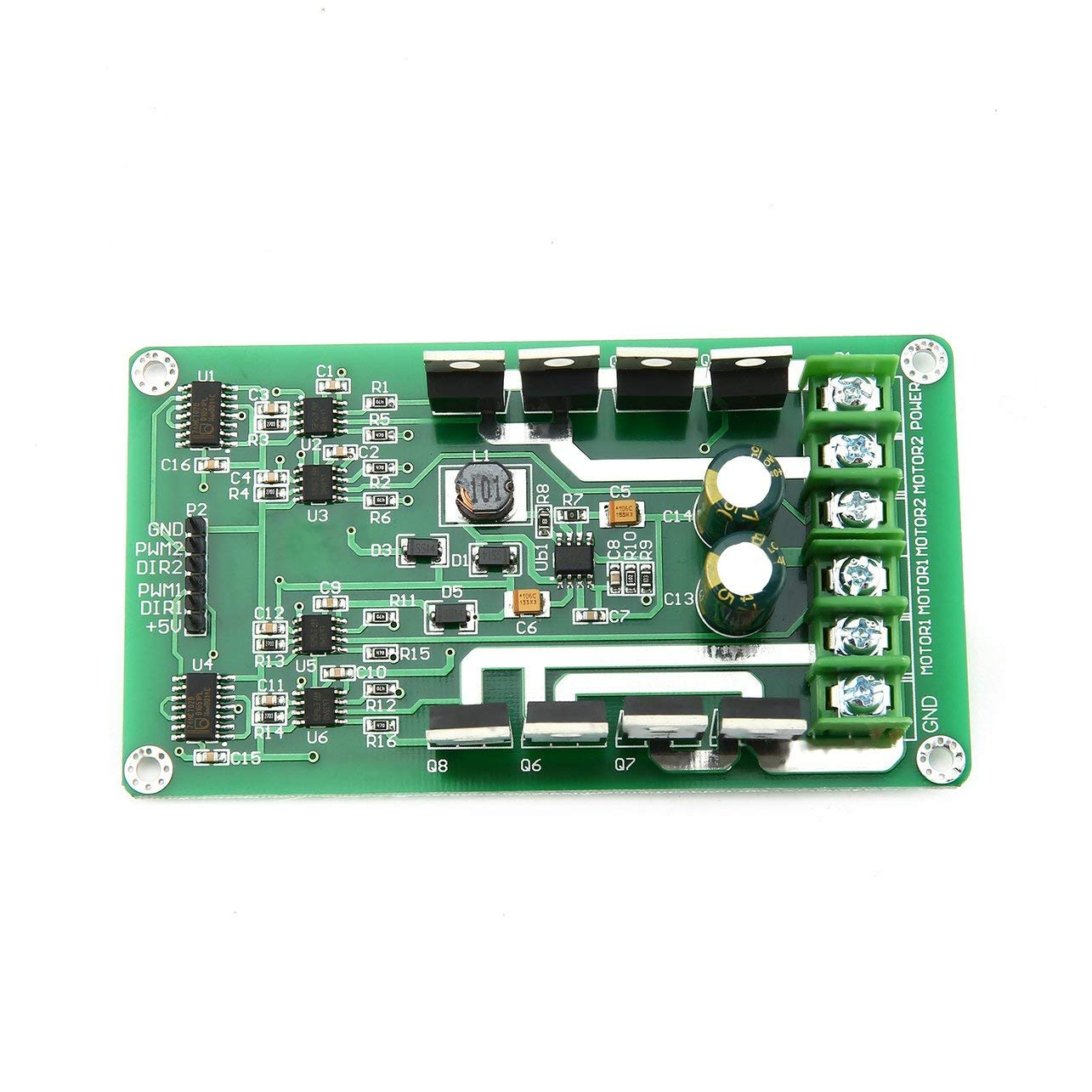 Pwm 12v 24v 30a Digital Version Electronic Circuit Board Kit Mxa087
