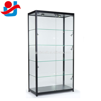 living room glass display cabinets rooms furniture sets sectional type titanium case showcase design