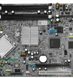 get quotations genuine dell g261d k075k ut226 motherboard logic main board for optiplex 960 small form [ 1500 x 1118 Pixel ]