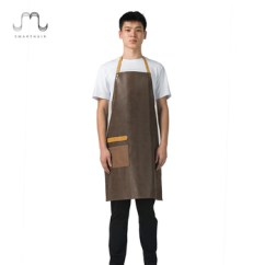 Cute Kitchen Aprons Cabinets Long Island Smarthair Ha07 Adjustable Sleeveless Mens Chef Butcher For Sale