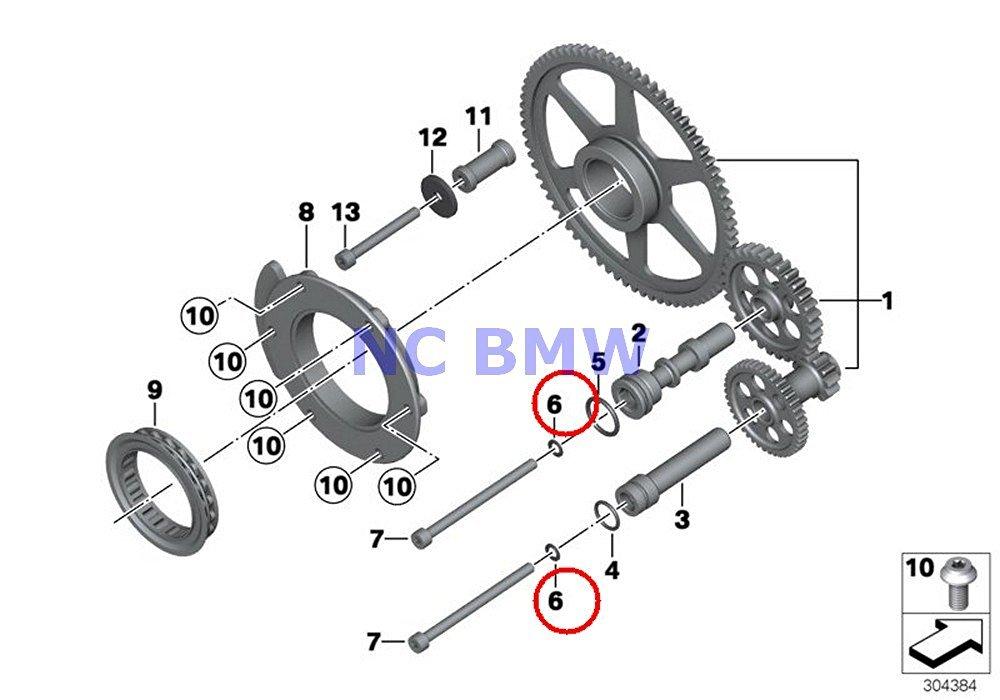 Buy BMW Genuine Oil Pump Starter One-Way Clutch O-Ring