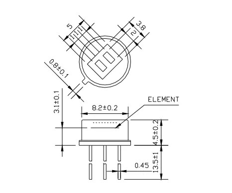 pir sensor wiring diagram gfci backwards database high tech fresnel lens d203b equivalent to infrared