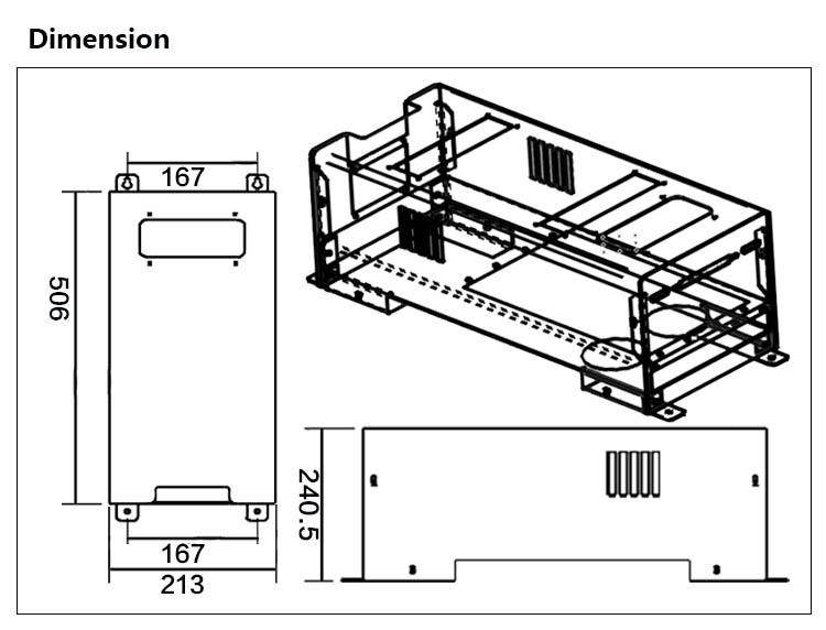 Stepless Output Adjustment Uv Electronic Ballast For Uv
