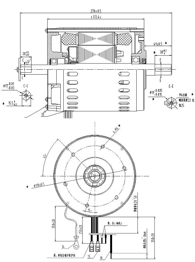 Single Phase Ac Motor 230v Asynchronous Bone Saw Electric