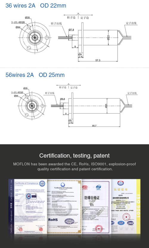 small resolution of moflon small capsule slip ring od 12 5 25mm with 6 12 18