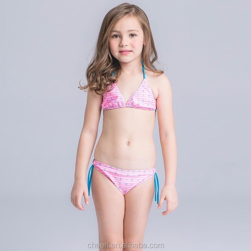 Htlgs Custom Kids Bathing Suit 2017 Summer New Design Hot Sex Bikini Young Girl Swimwear  Buy