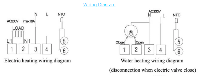 Electric Underfloor Heating Wiring Diagram