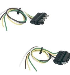 get quotations hopkins 48175 basic wiring solution 4 wire flat vehicle trailer side [ 1500 x 1084 Pixel ]