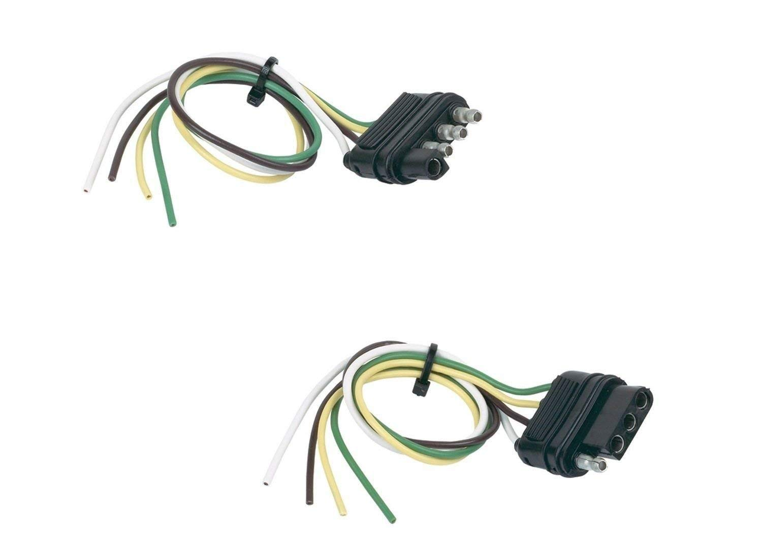 hight resolution of get quotations hopkins 48175 basic wiring solution 4 wire flat vehicle trailer side