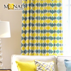 Cute Living Room Curtains Western Style Sets Energetic And Fabric Curtain Raw Material Buy