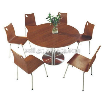 fast table chair hanging room design buffet dining food wood chairs cheap restaurant furniture