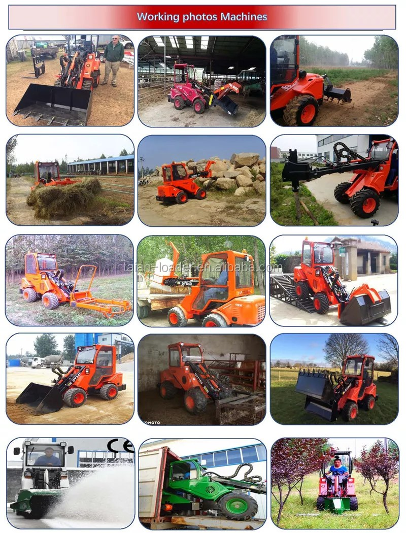 4wd Tractor With Loader For Sale : tractor, loader, Articulated, Tractor, Dy840, Loader, Tractor,4x4, Tractor,Tractor, Product, Alibaba.com