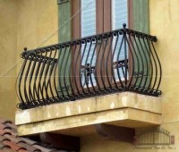 Modern Outdoor Fancy Balcony Railings Design New