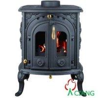 Smokeless Victorian Wood Burning Fireplace - Buy Victorian ...