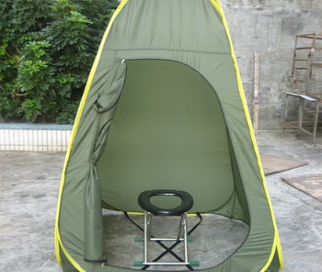 Movable Easy Folding Portable Changing Camping Toilet Tent