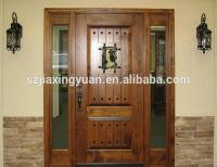 Traditional Wooden Single Main Door Design