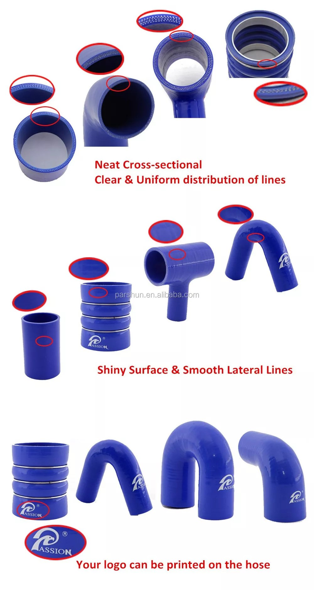 high performance 4 inch 5 8mm thick silicone marine exhaust hose buy silicone hose high performance silicone hose marine exhaust hose product on