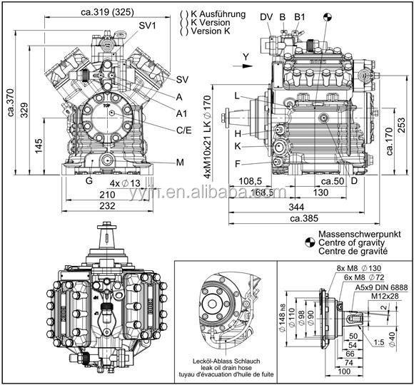 Trustworthy China Supplier Bock Compressor Fk40 655k V