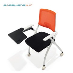 Portable Study Chair Posture Ebay Student Plastic Foldable With Tablet Arm Desk Buy