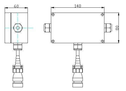 Calt Measuring Angle Absolute Rotary Encoder Cas60 Cax60