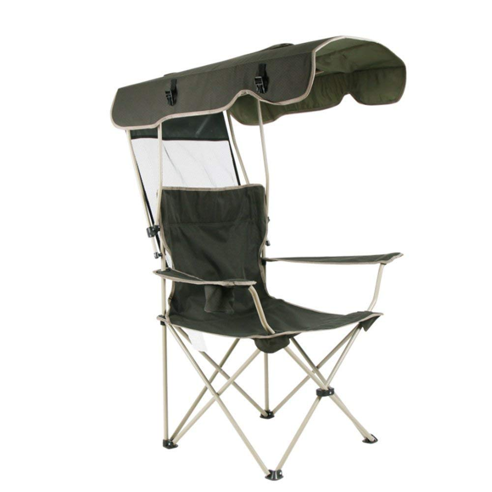 Fold Up Chair With Canopy Buy Hm Dx Outdoor Folding Camping Chair With Shade Canopy Sun