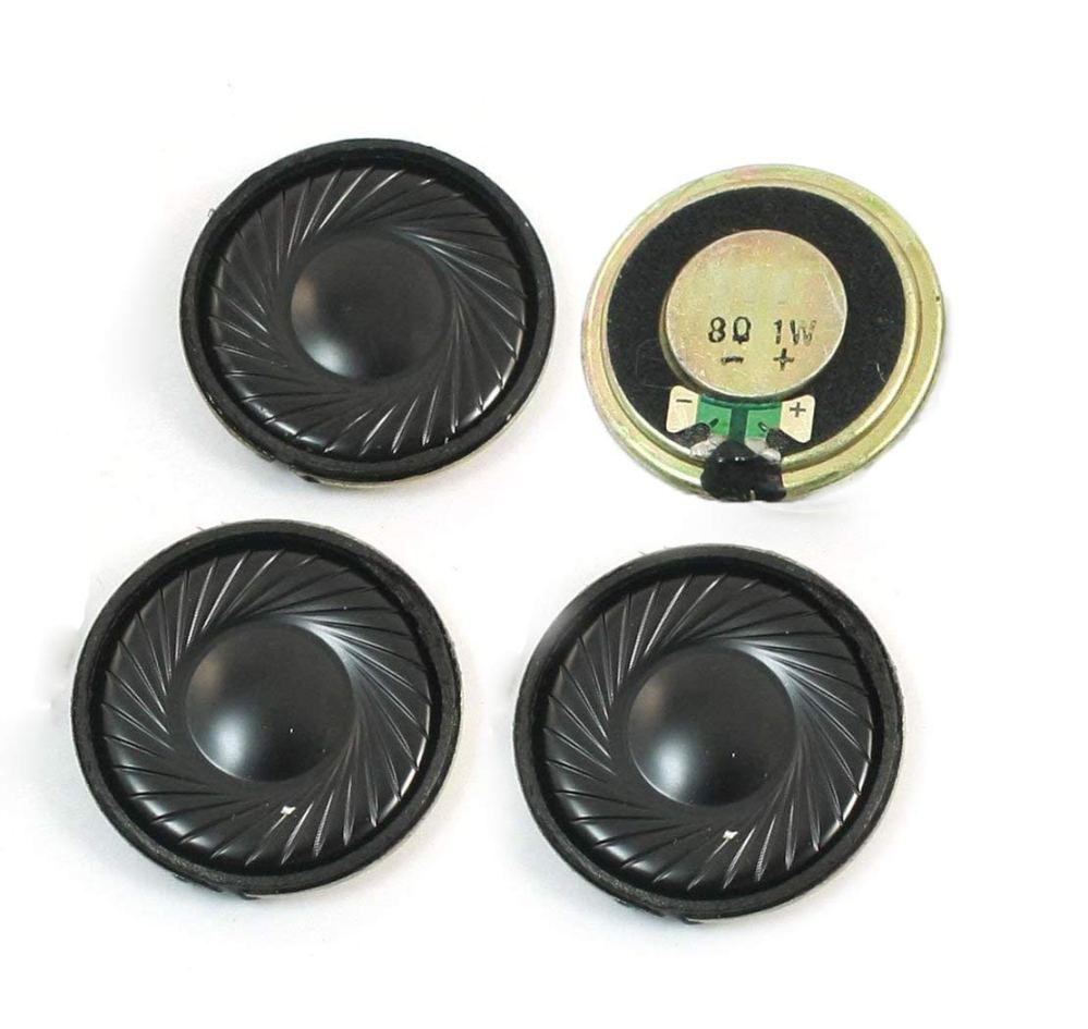medium resolution of get quotations yxq 1w 8 ohm micro internal speaker magnet loudspeaker 32mm dia round metal shell wire diy