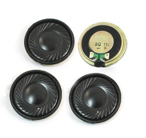 small resolution of get quotations yxq 1w 8 ohm micro internal speaker magnet loudspeaker 32mm dia round metal shell wire diy