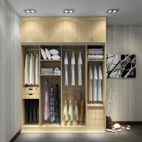 New Bedroom Wall Wardrobe Design With Siliding Door - Buy ...