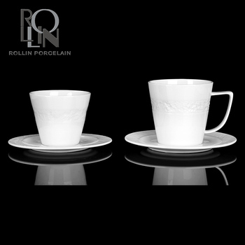personalized tea cups saucers