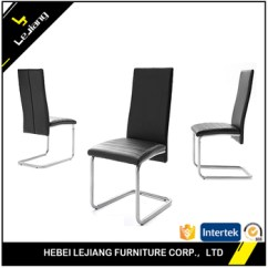 Metal Frame Leather Dining Chair Black Chairs Set Of 6 Green Effezeta Malaysia For Sale