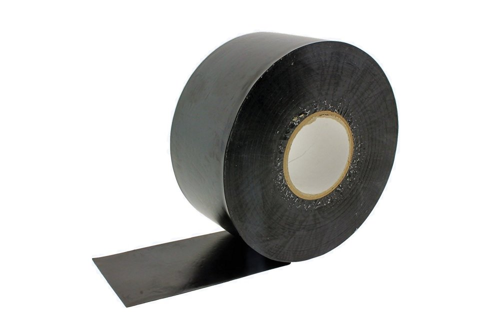 medium resolution of get quotations 2 in x 100 black pipe wrapping wrap tape 10 mil ultra sticky corrosion