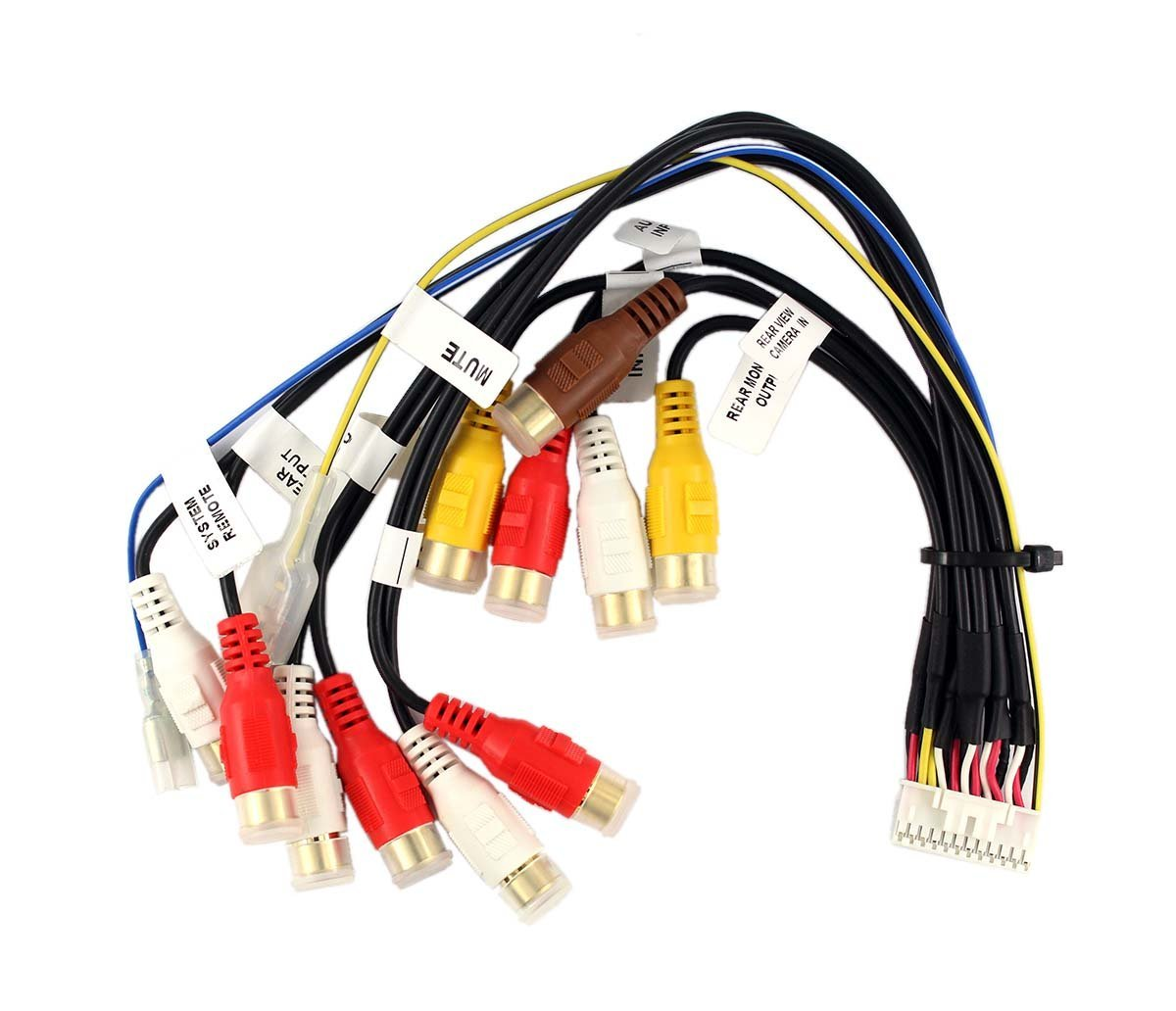 hight resolution of xa car audio wire harness 24pin rca for pioneer avic f900bt avic f90bt