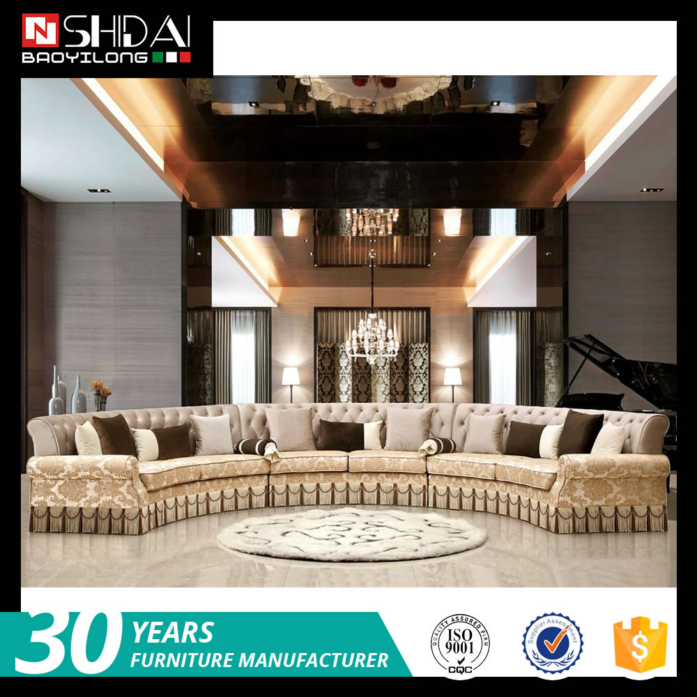 2017 New Design Sofa Set Latest Hall Luxury